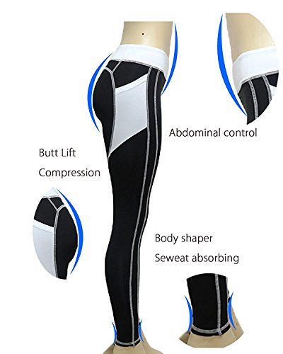 CYMF Skinny Sport Leggings Yoga Pants Capri Exercise Workout Leggings Gym Compression