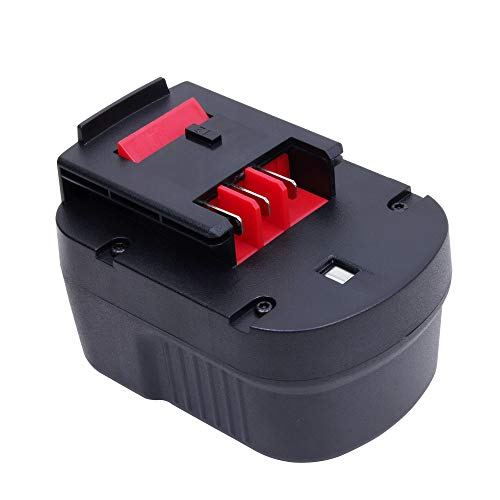 VANON 2000mAh 12V NiCd Rechargeable Replacement Battery for Black & Decker HPB12 A1712 FS120B FSB12 A12 A12-XJ A12EX (1 Pack) ()