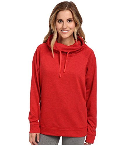 Nike Obsessed Infinity Coverup L/S Top (small, red)