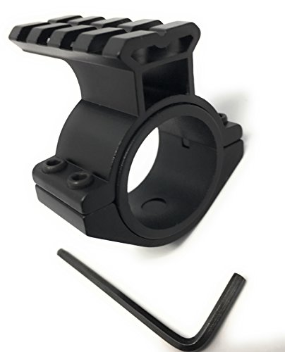 Dagger Defense scope ring mount adapter for add-on single picatinny rail accessories to your scope