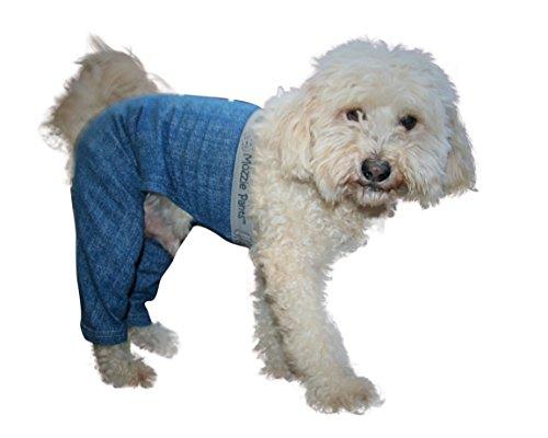 Mozzie Pants MWPBLUE Walking Dog Pants, Medium by Mozzie Pants