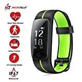 MICROTELLA Fitness Tracker Waterproof, Smart Activity Watch, Smart Band with Step Counter, Calorie Counter Watch, GPS Band, Fitness Tracker with Heart Rate Monitor, Pedometer for Android and iOS