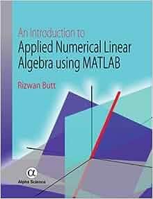 numerical linear algebra matlab pdf