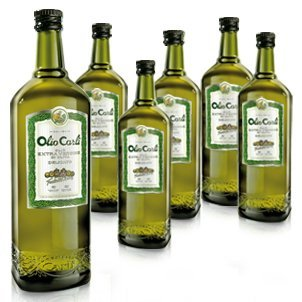 Olio Carli Extra Virgin Olive Oil - 25.3 Ounce (6-Pack)