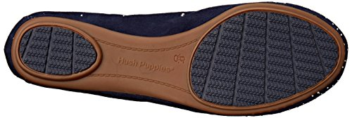 Hush Puppies Women's Lolly Chaste Ballet Flat Navy Suede PMyQN