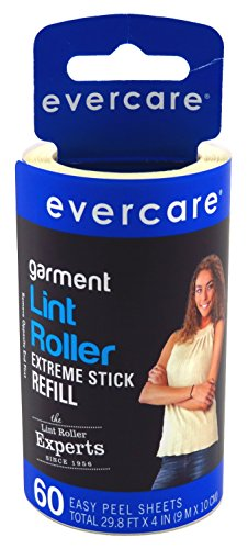 Evercare Lint Roller Refill 60 Sheets Extreme Stick (6 Pack)