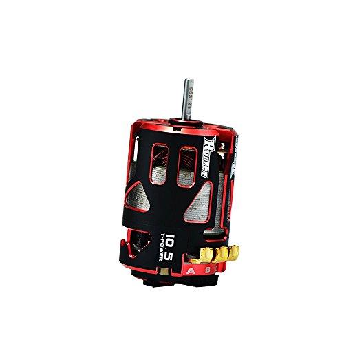 Jrelecs 540 10.5T 4000KV 3.175mm Shaft Sensored Brushless Motor Racerstar V4S Rocket Stock Spec Brushless 2 Sensor for 1/10 RC Racing Car