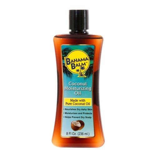 Bahama Balm New 319606 Moisturizing Oil 8Z Coconut (12-Pack) Skin Care Wholesale Bulk Health & Beauty Skin Care