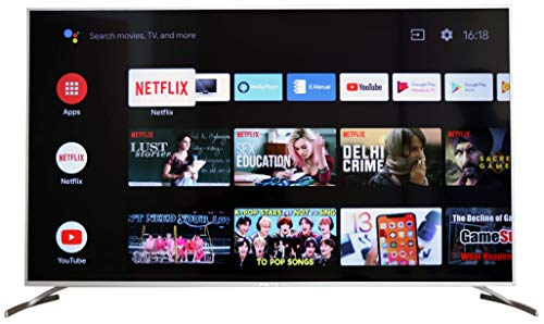 METZ 4K Ultra HD Certified Android Smart  LED TV M50G2