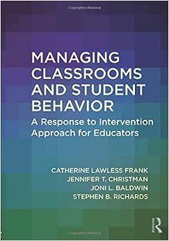 Descargar Utorrent Managing Classrooms And Student Behavior Kindle A PDF