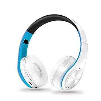 Y1Cheng Auriculares Bluetooth Auriculares Inalámbricos Bluetooth Auriculares Estéreo con FM Auriculares Auriculares Plegables Música Micrófono Manos