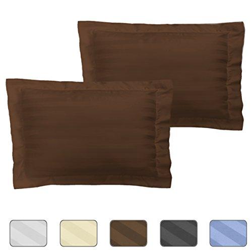American Pillowcase Striped Pillow Shams Set of 2 - Luxury 5