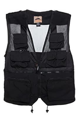 HUMVEE Nylon Combat Vest with Safety Zipper