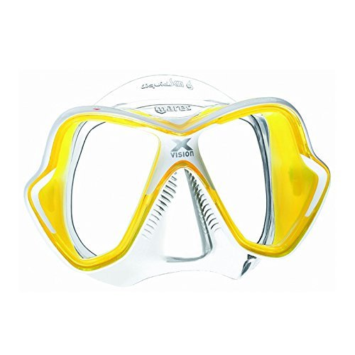 Mares X-Vision Liquid Skin Yellow/Clear by Mares