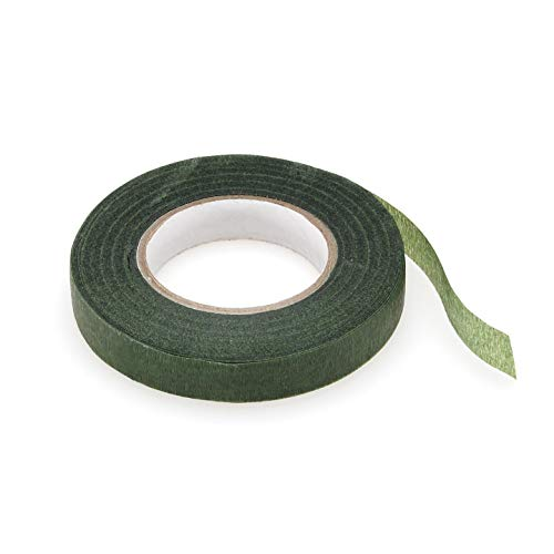 Bulk Buy: Darice DIY Crafts Floral Tape Green 1/2 inch x 30 yards (3-Pack) P35754-3 ()