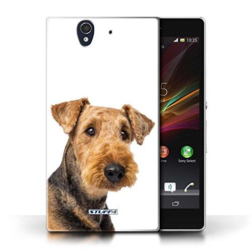 Etui / Coque pour Sony Xperia Z / Airedale Terrier conception / Collection de Chiens