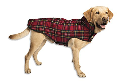Orvis Red Plaid Dog Jacket, Large by Orvis