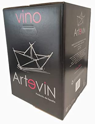 Bag in Box ARTEVIN vino TINTO 15 Litros (15 LITROS)…