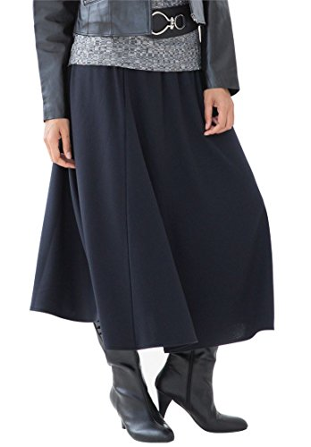 Jessica-London-Womens-Plus-Size-Midi-Skirt-In-Ponte-Knit