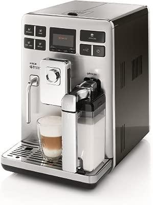 Saeco HD8854/01 - Cafetera de espresso automática Exprelia, 1500 W