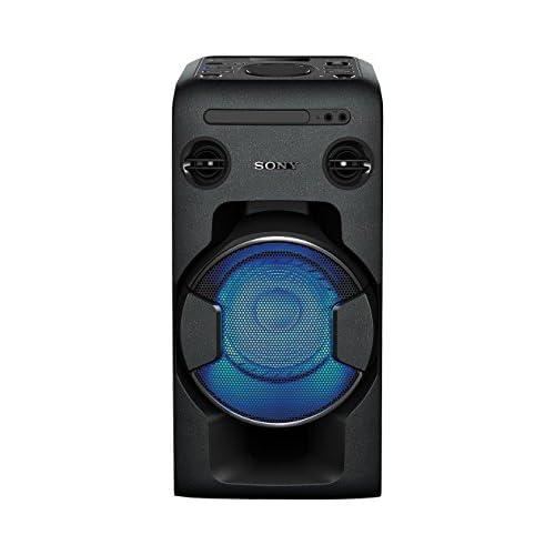 chollos oferta descuentos barato Sony MHCV11 Sistema de Audio en casa Altavoz para Fiesta de Alta Potencia con Bluetooth CD Radio FM USB