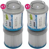 Darlly Pack 2X Filtres Spa Lot de 2 (40104 / M-Spa)