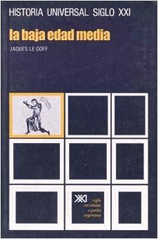 La Baja Edad Media por Jacques Le Goff epub