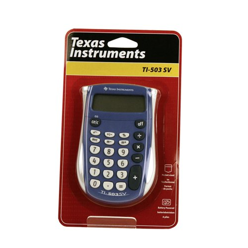TEXTI503SV - Texas Instruments TI-503SV Pocket Calculator TI-503 SV