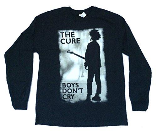 The Cure Boys Don't Cry Black Long Sleeve Shirt (XL)