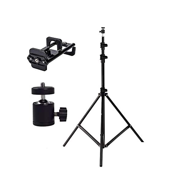 RetinaPix HIFFIN Light Weight Tripods with 9 Ft Light Stand and Light Stand