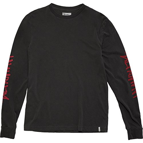 ALTAMONT Men's One Liner Sleeves Ls, Black, M