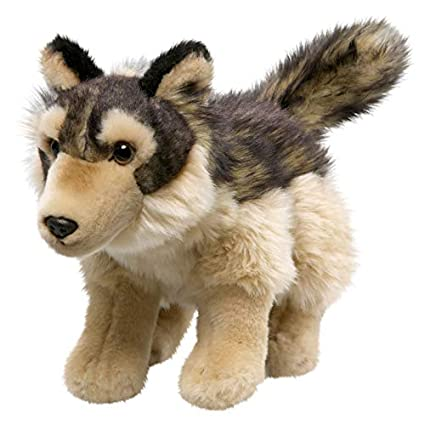 Amazon Com Carl Dick Wolf 10 Inches 26cm Plush Toy Soft Toy