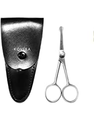 Nose Scissors - 4 Inch Rounded Scissors for Nose, Eyebrow...