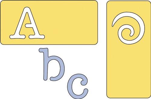 Cuttlebug Alphabet: Typewriter