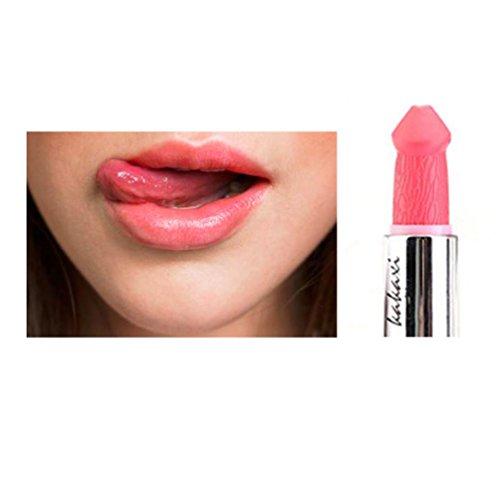 Sunward 2017 Women Sexy Waterproof Long-Lasting Pecker Lipstick (A)