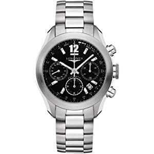 Longines L3.635.4.56.6 - Reloj de pulsera hombre, acero inoxidable 2
