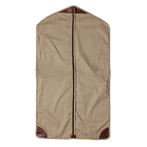 Moore and Giles Garment Sleeve Holton, Brushed Twill Tan