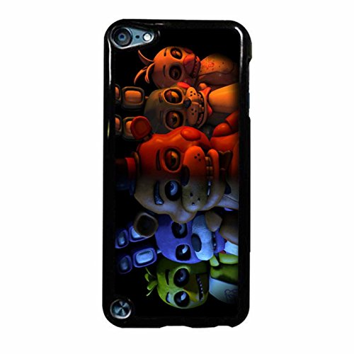 Five Nights At Freddy Case Cover / Color Nero Plastic / Device iPod Touch 6