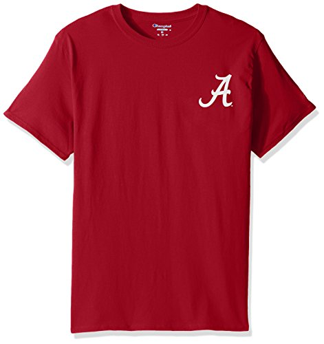 Champion NCAA Alabama Crimson Tide Team Color University Short Sleeve Tee -