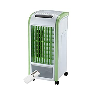Creazy Air Cooler 4 in 1 Air Conditioner Humidifier & Purifier Freshener Portable Mini Water Cooling Fan 3.5L Green With Remote Control