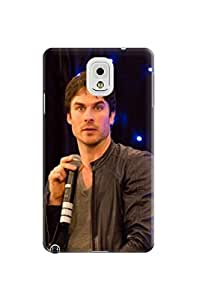 2014 New Waterproof Dirtproof fashionable TPU Cool Ian Somerhalder Protection Case for Samsung Galaxy Note 3