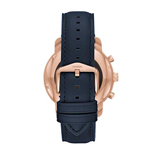 Fossil Gen 3 Smartwatch - Q Explorist Navy Leather FTW4002
