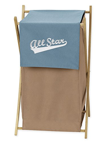 Sweet Jojo Designs Baby and Kids Clothes All Star Sports Laundry Hamper by Sweet Jojo Designs