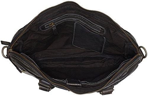 Legend Unisex-Erwachsene Trabia Laptop Tasche, 30x7x37 cm Schwarz (Schwarz)