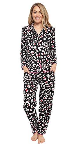 Cyberjammies Damen Pyjama Set mit Tiermuster, bernsteinfarben (4361/4362)