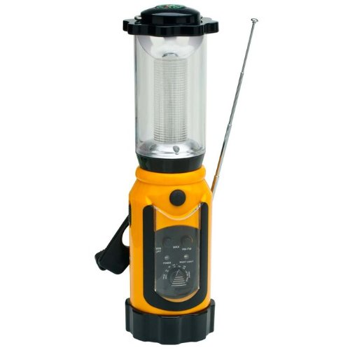 Wind 'N Go Portable Lantern/Radio, Outdoor Stuffs