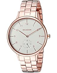 Skagen Women's Anita SKW2417 Rose Gold Stainless-Steel Quartz Watch