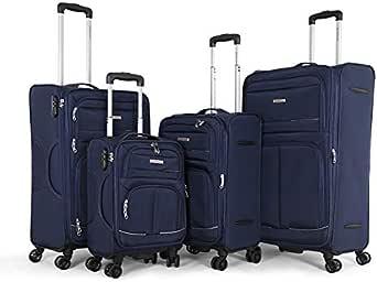 جيوردانو حقائب سفر بعجلات للجنسين - ازرق