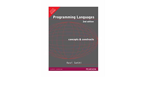 Programming Languages Concepts And Constructs Ravi Sethi Pdf