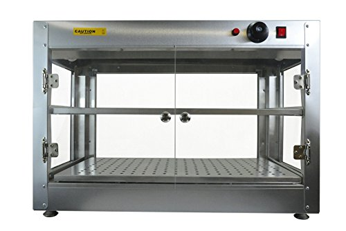 New Commercial Counter Top Food Pizza Pastry Warmer Wide Display Case 20'' x 20'' x 24'' by MTN Gearsmith (Image #6)